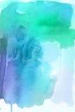 абстрактная акварель предпосылки Стоковая Фотография
