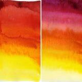 абстрактная акварель предпосылки Стоковое Фото
