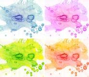 абстрактная акварель предпосылок Стоковые Изображения RF
