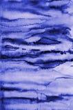 Абстрактная акварель сирени на бумажной текстуре как предпосылка Стоковые Фото