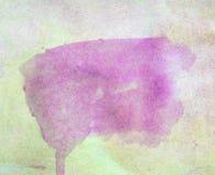Абстрактная акварель знамени на бумажной предпосылке текстуры Стоковая Фотография