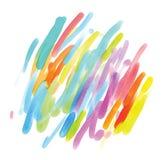 абстрактная акварель картины иллюстрация вектора