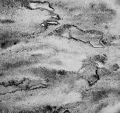 Абстрактная акварель на бумажной текстуре как предпосылка В черноте и Стоковое Изображение RF