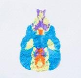 абстрактная акварель предпосылки Стоковые Фото