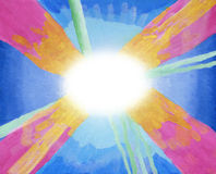 абстрактная акриловая предпосылка Стоковая Фотография RF