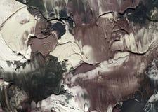 абстрактная акриловая покрашенная предпосылка Стоковая Фотография RF