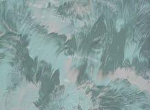 Абстрактная акриловая текстура картины цвета Стоковая Фотография