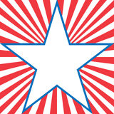 абстрактная америка Стоковое Изображение