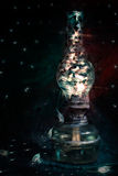 Абстрактная лампа Стоковые Фото