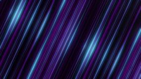 Абстрактная анимация красочного голубого и пурпурного вращения лучей Психоделическая абстракция бесплатная иллюстрация