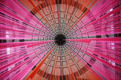 абстрактная архитектурноакустическая крыша Стоковые Фото