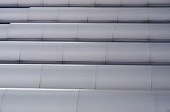 Абстрактная алюминиевая геометрическая предпосылка Графическая абстракция Стоковые Фотографии RF