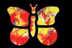 Абстрактная бабочка Стоковое Изображение