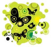 абстрактная бабочка Стоковые Изображения RF