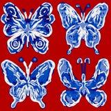абстрактная бабочка Стоковые Фото