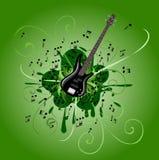 абстрактная басовая гитара Стоковое фото RF