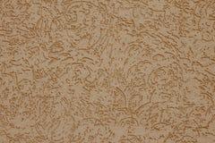Абстрактная бежевая предпосылка для декоративного дизайна Покрашенная текстура бумаги Картина, минимальная концепция Грубая повер стоковая фотография