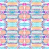 Абстрактная безшовная акриловая орнаментальная картина Безшовная текстура в стиле импрессионизма для сети, печати, обручей, ткани Стоковые Фото