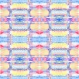 Абстрактная безшовная акриловая орнаментальная картина Безшовная текстура в стиле импрессионизма для сети, печати, обручей, ткани Стоковые Фотографии RF