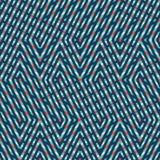 Абстрактная безшовная картина вектора пересекать раскосное orname Стоковое фото RF