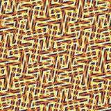 Абстрактная безшовная картина вектора пересекать раскосное orname Стоковые Фото