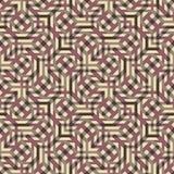 Абстрактная безшовная картина вектора пересекать раскосное orname Стоковое Изображение RF