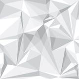 Абстрактная безшовная картина в белизне Стоковая Фотография RF