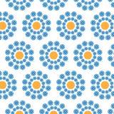 Абстрактная безшовная картина круговой формы Стоковое Фото