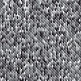 Абстрактная безшовная картина мозаики элементов Текстура ткани иллюстрация штока