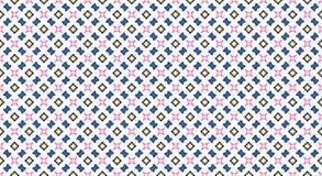 Абстрактная безшовная картина на белизне стоковые изображения rf