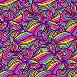 Абстрактная безшовная картина орнамента Стоковые Фотографии RF