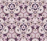 Абстрактная безшовная картина, предпосылка Составленный покрашенных геометрических форм Стоковые Фото