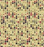 Абстрактная безшовная картина состоя из геометрических элементов Стоковые Фото