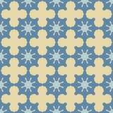 Абстрактная безшовная картина со звездами и крестами m бесплатная иллюстрация