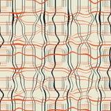Абстрактная безшовная иллюстрация картины мраморизованной текстуры шотландки иллюстрация вектора