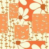 Картина цветка квадратная Стоковая Фотография