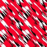 Абстрактная безшовная картина с красными и черными линиями вакханические бесплатная иллюстрация