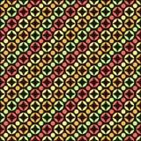Абстрактная безшовная картина с кругами иллюстрация штока