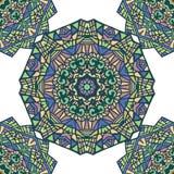 Абстрактная безшовная картина с орнаментом шнурка Стоковые Фотографии RF