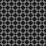 Абстрактная безшовная картина с перекрывая квадратами иллюстрация вектора