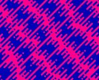 Абстрактная безшовная картина с плоскими геометрическими раскосными линиями Стоковые Изображения RF