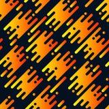 Абстрактная безшовная картина с плоскими геометрическими раскосными линиями Стоковые Изображения