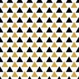 Абстрактная безшовная картина с треугольниками Стоковое фото RF