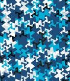 Абстрактная безшовная картина углов и треугольников Обман зрения движения Яркая картина молодости иллюстрация штока