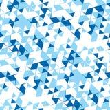 Абстрактная безшовная картина углов и треугольников Обман зрения движения Яркая картина молодости иллюстрация вектора