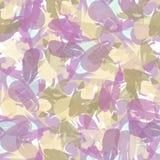Абстрактная безшовная картина ходов краски Стоковое Изображение