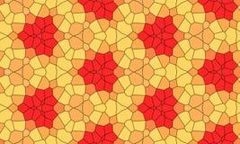 Абстрактная безшовная картина цвета Стоковые Фото
