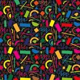 Абстрактная безшовная картина Стоковое фото RF