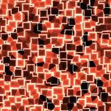 Абстрактная безшовная красная картина Стоковые Изображения RF