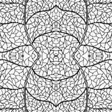 Абстрактная безшовная нарисованная предпосылка руки doodle выравнивается цветастая картина иллюстрация вектора